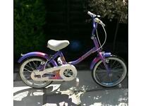 Girls raleigh sunray bike.