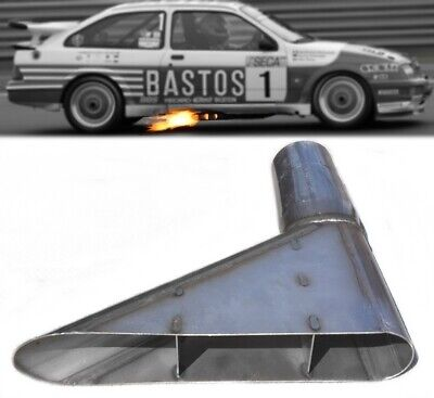 """★ NEW 3"""" Stainless Steel Side Exit Exhaust GrpA BMW Ford RS500 Cosworth Audi WRC"""