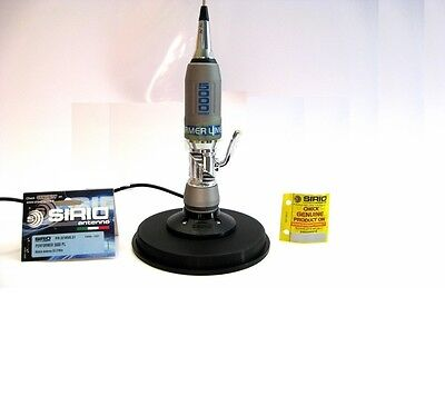 CB ANTENNA SIRIO PERFORMER 5000 PL WITH CB MAGNETIC BASE 145MM WITH COAX PL259