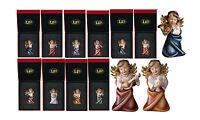 Set 10 Bomboniere Angeli In Legno Cm. 6 Con Filo Simil-oro Astucci Exclusive - -  - ebay.it