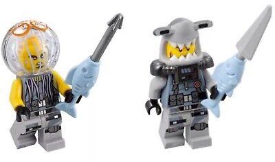 From 70610 Lego The Lego Ninjago Movie Hammer Head njo366 Minifig Figurine New