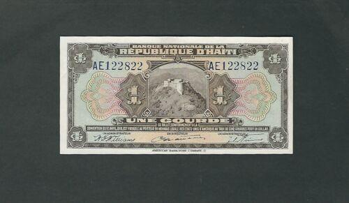 Haiti - One (1) Gourde  - 1919