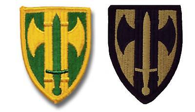 US Army 18 Military Police Brigade 18MP BDE sew-on color class A & subdued Patch