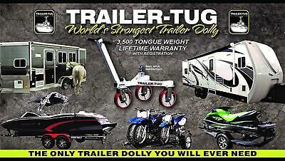 Trailer Tug - Trailer Mover for RV Boat Motorcycle Jetski World's Greatest Mover