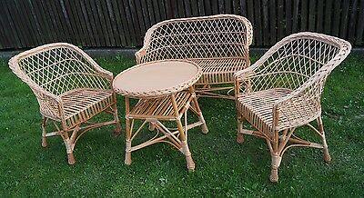 Ensemble de meubles de jardin chaises canapé table patio extérieur conservation