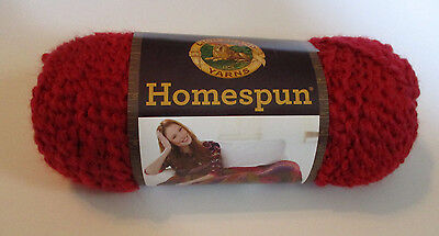 Homespun Yarn Candy Apple Color 375 Bulky Yarn 023032793757