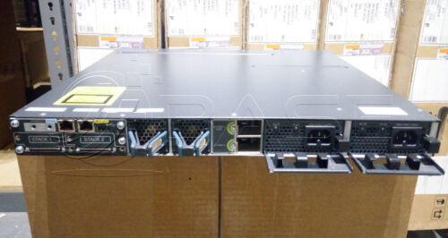 Cisco Ws-c3750x-48p-s 48 10/100/1000 Ethernet Poe+ Ports W/ Dual Power