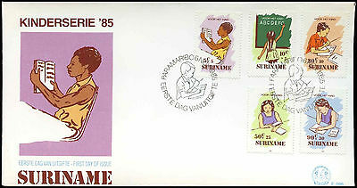 Suriname 1985 Child Welfare FDC First Day Cover #C30281