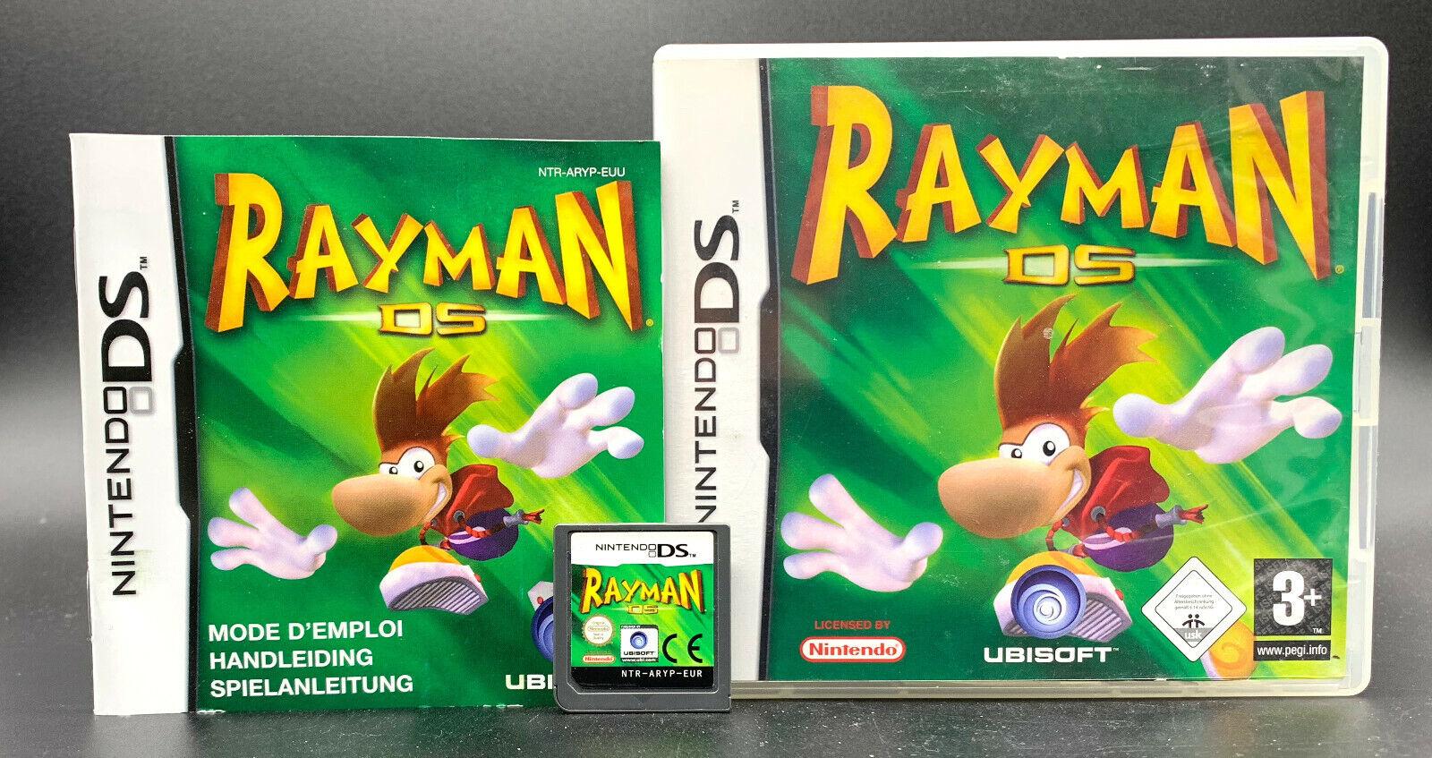 Spiel: RAYMAN DS für Nintendo DS + Lite + Dsi + XL + 3DS + XL + 2DS