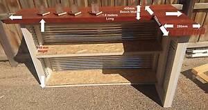 Red gum bench top entertainment bar Doreen Nillumbik Area Preview