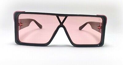Black Fram Runway Sunglasses For Man Rectangular Shape Millionaire Glasses (Millionaire Glasses)