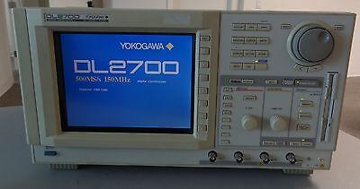Yokogawa Dl2700 Digital Oscilloscope 8 Bit 500mss 150mhz