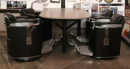 Barber Chairs & Table