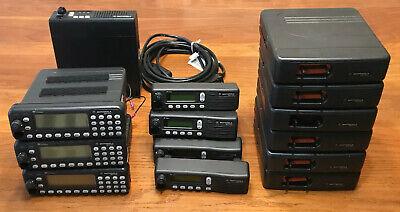 Motorola Lot Mcs2000 M01ugl6pw4bn Mobile Radios 800 Mhz Mics 1 Maxtrac Radio