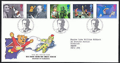 Children's Television 1996 First Day Cover - Stamps SG1940 to SG1944 Edinburgh