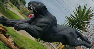 Life Size Black Panther Sculpture Altona Meadows Hobsons Bay Area Preview