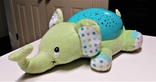 "Summer Infant Slumber Buddies 12"" Plush Elephant Interactive Night Light w/Sound"