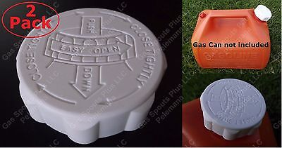 2 Gott Gas Can Caps Only Blitz Rubbermaid Fuel Gallon Safety Lid W Viton Gasket