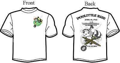Doolittle Raid, B-25, USS Hornet Squadron T-Shirt, Long or Short Sleeve