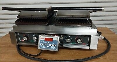 Commercial Kitchen Panini Grill Lang Manufacturing Pb-24 Electric You Freight