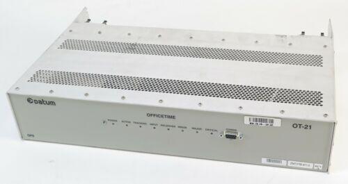 Datum OT-21 Officetime Rev A Multiplexer without Brackets