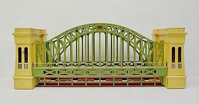 Lionel Prewar 300 Hellgate Hells Gate Bridge Original Green Cream Standard Gauge