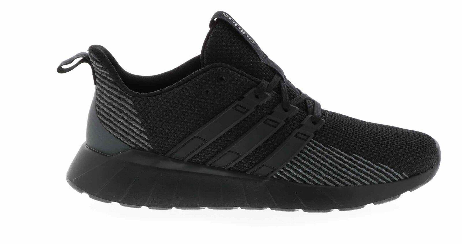 Mens Adidas Questar Flow Black Sport Athletic Running Shoes F36255 Sizes 8-12
