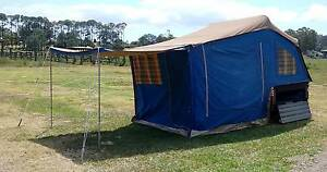 WALKABOUT CAMPER TRAILER, ANNEXE, QUICK SETUP, finance available Burpengary Caboolture Area Preview