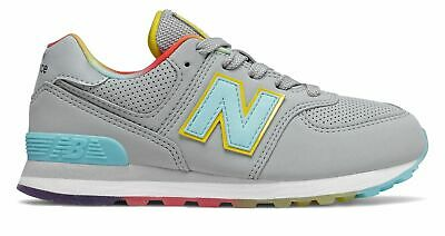 New Balance Kid's 574 Little Kids Female Shoes Grey