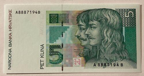 Croatia 5 kuna 1993 UNC