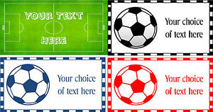 Ultra-Thin-Metal-Door-Sign-Plaque-Football-4-Great-Designs-With-Your-Own-Text
