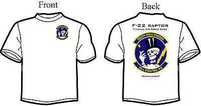 95th Fighter Squadron F-22 Raptor T-Shirt F22 Raptor Fighter
