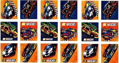 3 Sheets Race Car NASCAR Racing Scrapbook Stickers for sale  Shipping to India