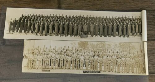 WW2 Panoramic and Other Size photos Army Lot of 4