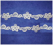 White Venise Lace Trim