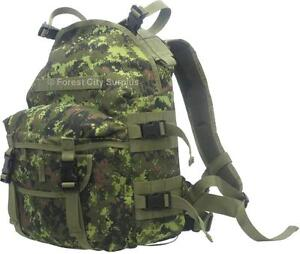 CANADIAN ARMY STYLE DIGITAL CAMOUFLAGE 3 DAY BACKPACK - MADE TO RUGGED MILITARY SPECS !!