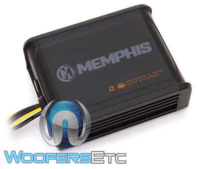 MEMPHIS MXA100.2S 2-CHANNEL 2X50W RMS MARINE BOAT ATV UTV SPEAKERS AMPLIFIER NEW ()