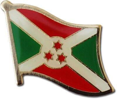 Wholesale Pack of 50 Burundi Country Flag Bike Hat Cap lapel Pin