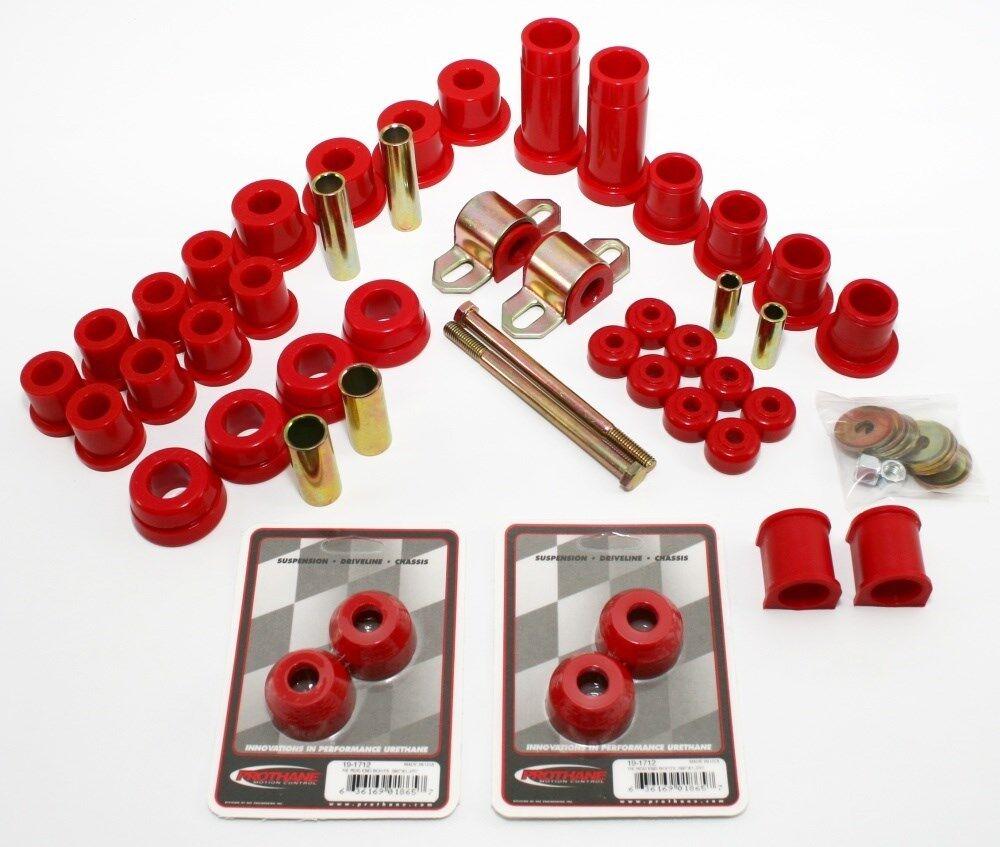 Prothane 18-2010 Red Total Kit