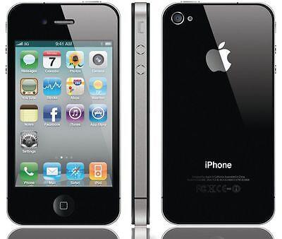 Apple iPhone 4 16GB WiFi Verizon Wireless Black Smartphone Clean Esn 16-GB