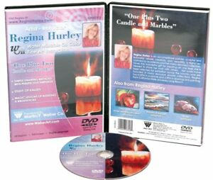Regina Hurley Instructional Painting DVD | 1+2 Candle/Marble | Water-Mixable Oil