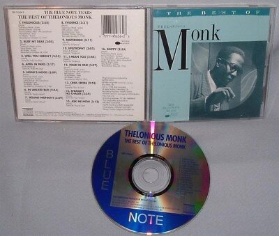 CD THELONIOUS MONK The Best Of NEAR MINT
