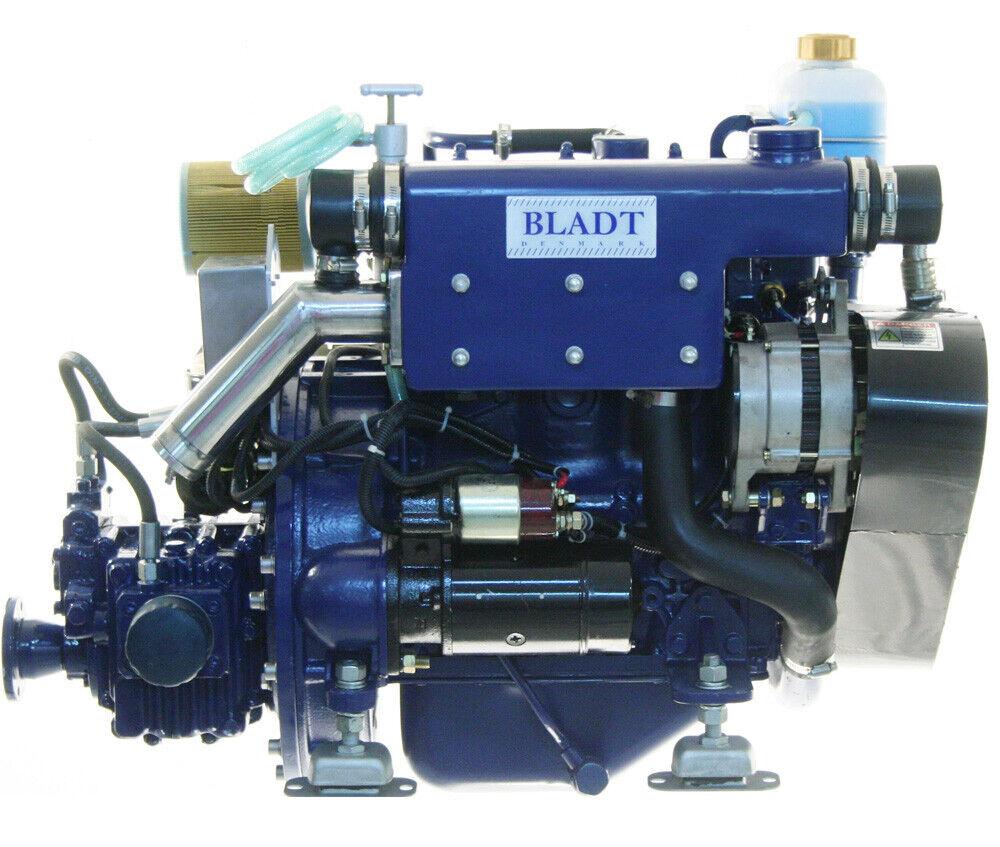 Bladt Diesel 32 PS Innenbordmotor (Segelboot / Motorboot Gleiter / Verdränger)