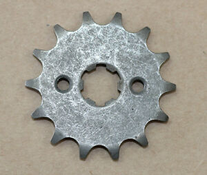 420-14-Tooth-14T-Front-Counter-Sprocket-Pit-Dirt-Bike-70cc-110cc-125cc-SDG-SSR