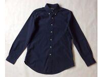 Men's Navy Blue Ralph Lauren Shirt