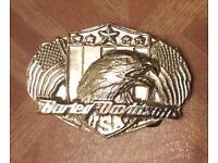 Harley Davidson Belt Bucklw