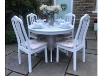 Dining Table & 4 Chairs ROUND