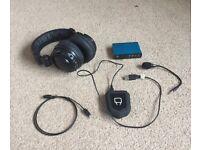 Sound card and Split headphones