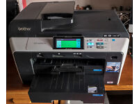 BrotherA4&A3 scanner, copier and printer plus set of original unopened Brother cartridges