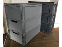 Plastic Container - Storage Box - Heavy Duty - AUER / SCHOELLER - Stackable